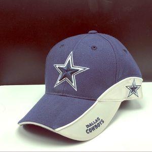 Dallas Cowboys Reebok hat cap hook loop football